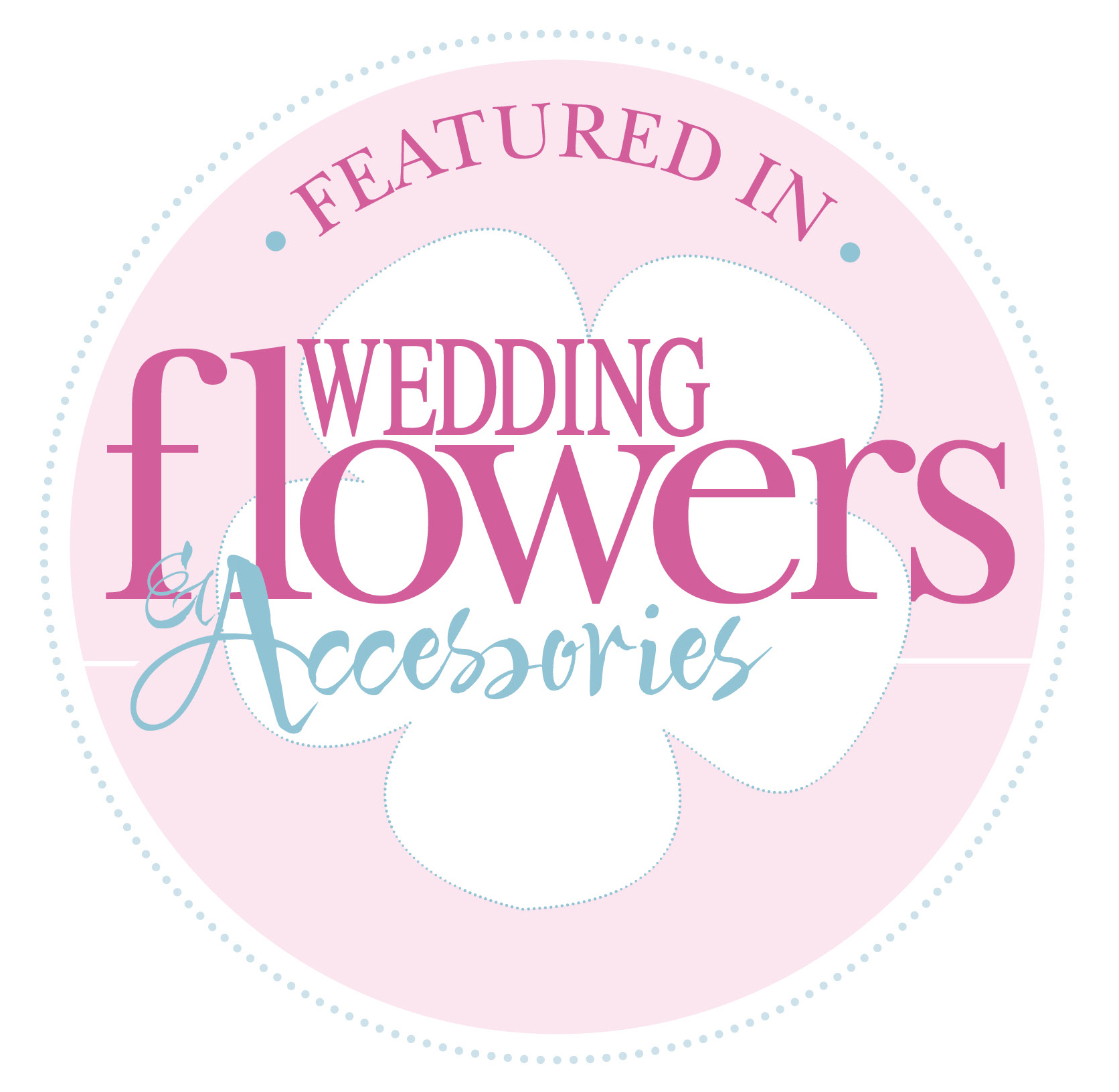 Featured in Wedding Flowers Magazine Badge